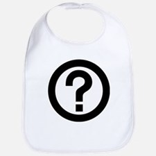 Question Mark Icon Bib