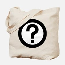 Question Mark Icon Tote Bag