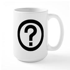 Question Mark Icon Mug