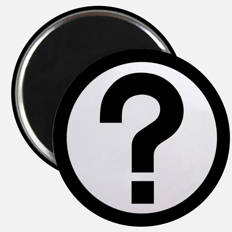 Question Mark Icon Magnet