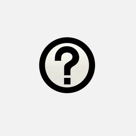 Question Mark Icon Mini Button