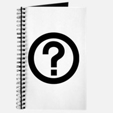 Question Mark Icon Journal