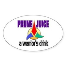 Worf Prune Juice Decal