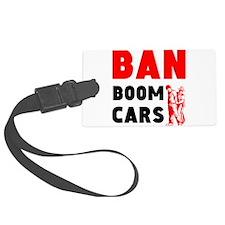 Ban Boom Cars Luggage Tag