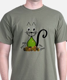 Trouble with Tribbles Cat T-Shirt