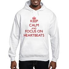 Keep calm heartbeat Hoodie