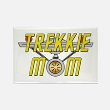 Trekkie Mom Rectangle Magnet