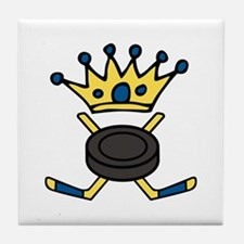 Hockey King Tile Coaster