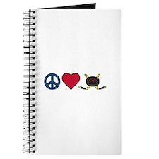 Peace Love Hockey Journal