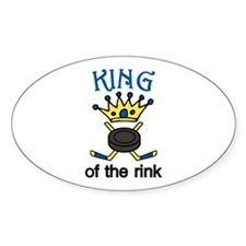 King Of Rink Decal
