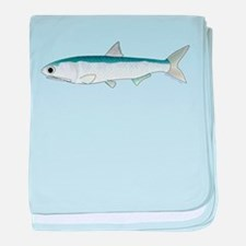 California Northern Anchovy c baby blanket