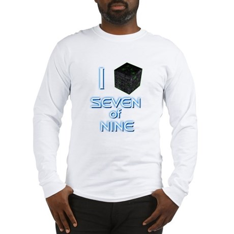 I Borg Seven of Nine Long Sleeve T-Shirt