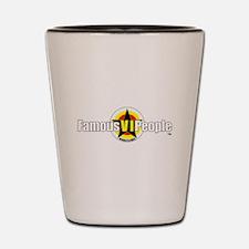 FamousVIPeople Logo Shot Glass