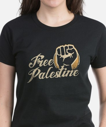 free palestine Women's Dark T-Shirt