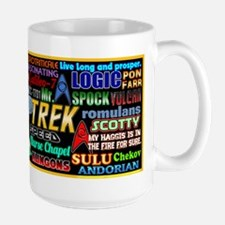 Star Trek TOS Large Mug