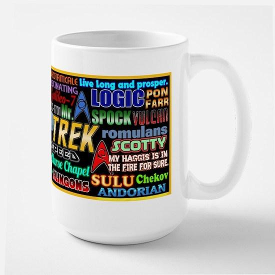 Star Trek TOS Large Mug