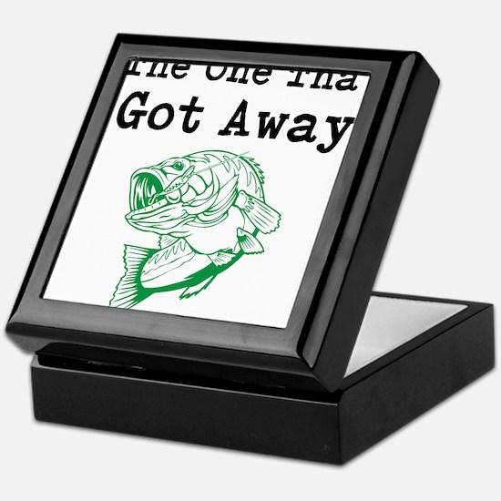 The One That Got Away Keepsake Box