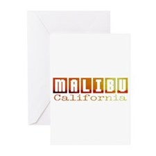 Malibu, California Greeting Cards (Pk of 10)