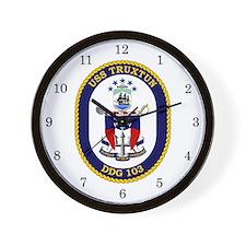 USS Truxtun DDG-103 Wall Clock