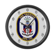 USS Truxtun DDG-103 Large Wall Clock