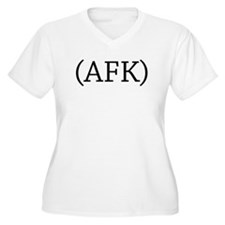 Away From Keyboard Plus Size T-Shirt