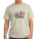 3 Little Yorkies Light T-Shirt