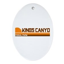 Kings Canyon National Park Oval Ornament