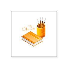 Letter Opener Writing Book Sticker