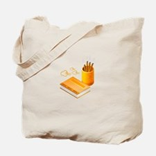 Letter Opener Writing Book Tote Bag