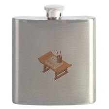 Chinese Books Pencil Table Flask