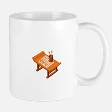 Chinese Books Pencil Table Mugs