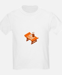 Chinese Books Pencil Table T-Shirt