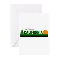 Its Better in California Greeting Cards (Package o