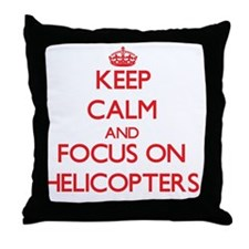 Unique Autogiro Throw Pillow
