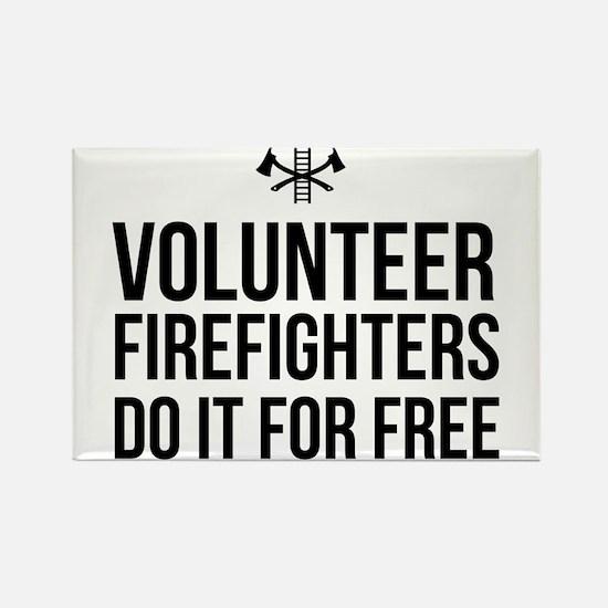 Volunteer firefighters free Magnets