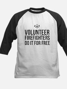 Volunteer firefighters free Baseball Jersey
