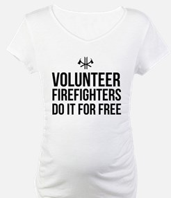 Volunteer firefighters free Shirt