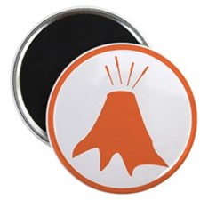 Science badge: active volcano is my research Magne