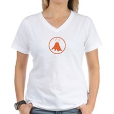 Science badge: active volcano is my research T-Shi