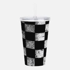 Checkered Flag Acrylic Double-wall Tumbler