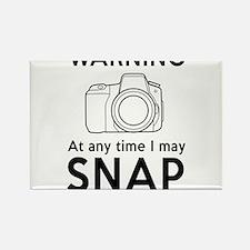 Warning may snap photographer Magnets