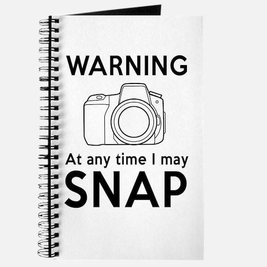Warning may snap photographer Journal