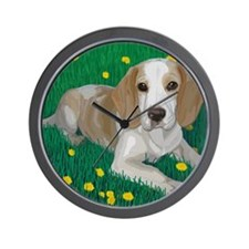 Beagle Bliss Wall Clock