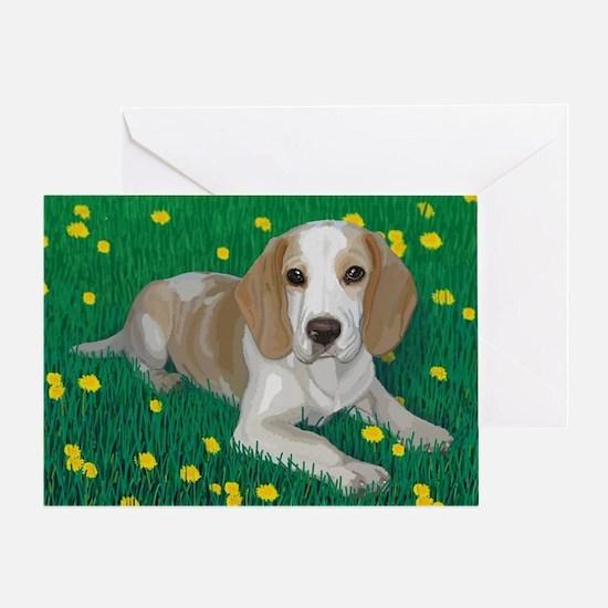 Beagle Bliss Greeting Card