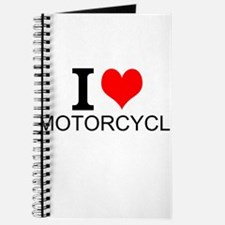 I Love Motorcycles Journal