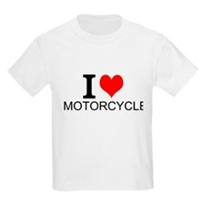 I Love Motorcycles T-Shirt