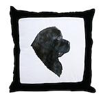 A Gorgeous Newfoundland Throw Pillow