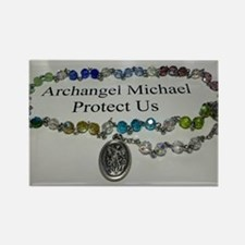 Archangel Michael Protect Us Magnets