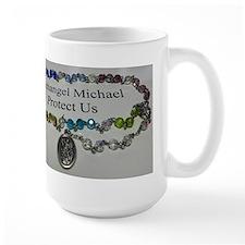 Archangel Michael Protect Us Mugs