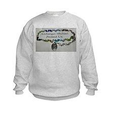 Archangel Michael Protect Us Sweatshirt